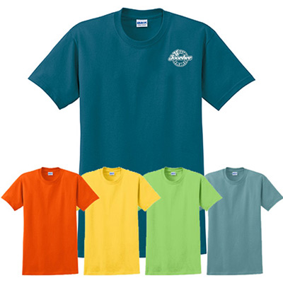 gildan® - ultra cotton® 100% cotton t-shirt (color)