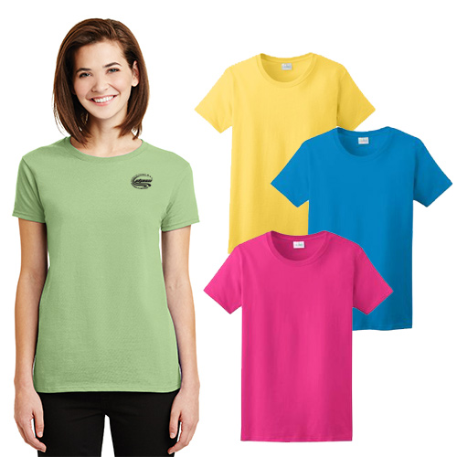 Gildan® - Ladies Ultra Cotton® 100% Cotton T-Shirt (Color)
