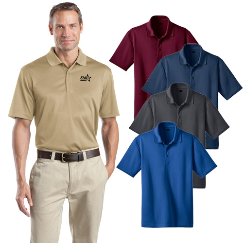 promotional CornerStone men's snag proof polo