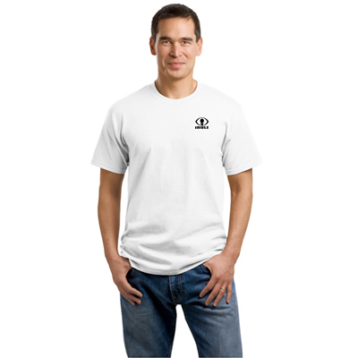 port & company® - core cotton tee (white)