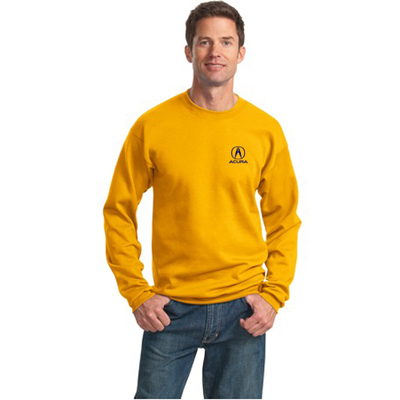 port & company®- essential fleece crewneck sweatshirt (color)