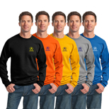 16616C - Port & Company® - Essential Fleece Crewneck Sweatshirt (Color)
