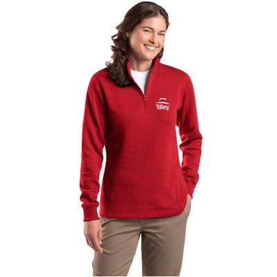 sport-tek - ladies 1/4-zip sweatshirt