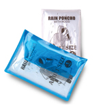 Promotional Rain Poncho in Vinyl Pouch