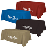 16742 - 6' Standard Table Throw 4-Color