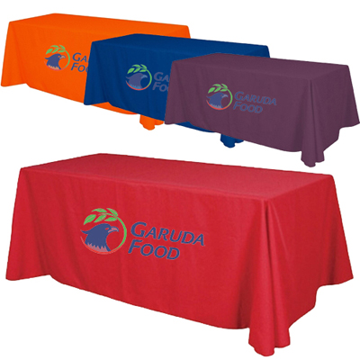 6' Economy Table Throw Full Color