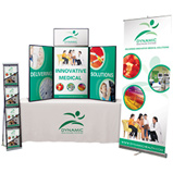 Promotional Tradeshows - Total Show Package #1, Logo Table Covers, Promotional Table Covers