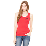 16833 - Bella - Ladies Rib Tank Top