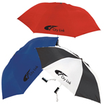 16869 - Forecaster Auto Open Folding Promotional Umbrella