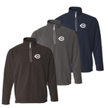 Promotional Apparel - Colorado Clothing - Lightweight Microfleece ¼ Zip Pullover, Customized Fleece