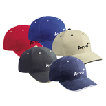 Promotional Brushed Bull Denim Sandwich Visor Low Profile Pro Style Caps, Custom Visor