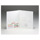 "Custom Folders, Customized Folders, 9""x 12"" Presentation Folder"