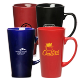 17213 - 16 oz Personalized Cafe Coffee Mugs
