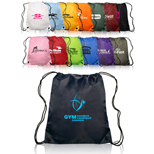 17250 - Classic Polyester Drawstring Bags