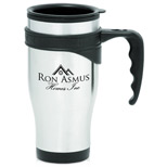 17307 - 16oz Stainless Steel Travel Mugs