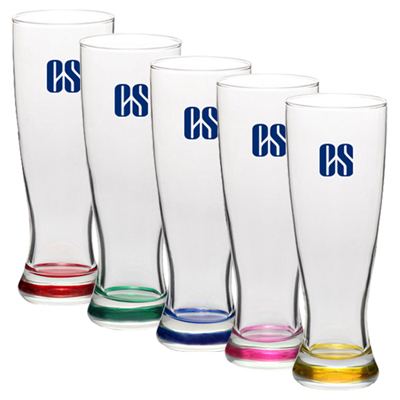 23 oz. Pilsner Glasses (Color)