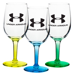 17366 - 6.5 oz Colored Wine Glasses