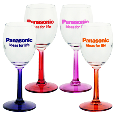 6.5 oz  Wine Glasses (Color)