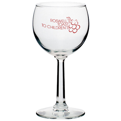 8 oz Red Wine Glasses (Clear)