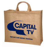 17429 - Large Jute Tote Bag