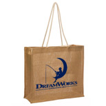 Promotional Jute Bags - Logo Imprinted Jute Bag with Rope Handle