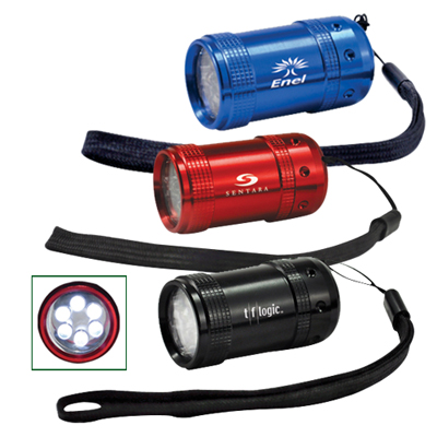 Barrel 6 LED Flashlight