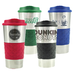 Promotional Grip N Go Stainless Tumbler