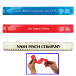 Promotional Bendable Ruler, Transparent Flexible Ruler