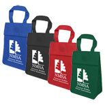 Eco Friendly Lunch Totes, Promotional Light Weight Non Insulated Lunch Tote
