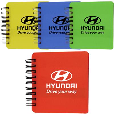BIC® Adhesive Memo Spiral Notebook