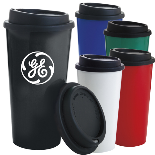 17568 - 17 oz. PP Tumbler with Black Lid
