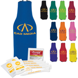 17573 - Zip-Up Koozie ® Tee Kit