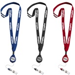 17619 - Promo Lanyard with Badge Reel