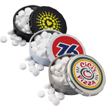 17629 - Round Mint Push Tin - Small