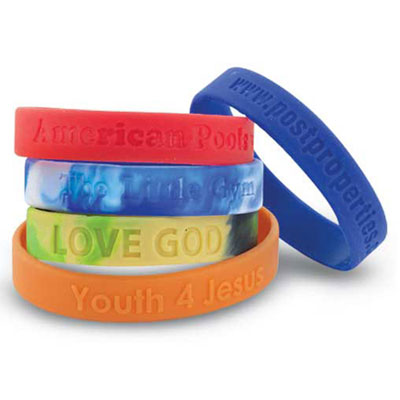 Silicon Wristband Youth Size