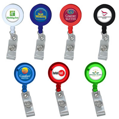 Promotional The Round Badge Holder