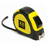 25 ft Locking Tape Measure, Promotional Push Button Retract Tape Measure
