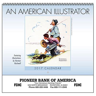 American Illustrator Wall Calendar