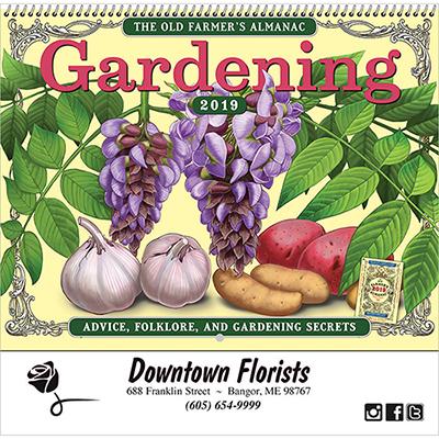 Gardening Spiral Wall Appt Calendar