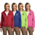 Logo Port Authority Ladies Hooded Jacket