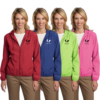 Ladies Hooded Essential Jacket