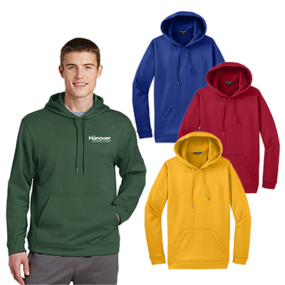 Sport-Tek® Sport-Wick® Fleece Hooded Pullover