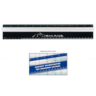 Twelve-Inch Measureview Ruler