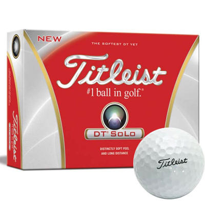 Titleist® DT® SoLo Golf Ball Std Serv