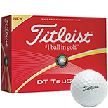 17830 - Titleist® DT TruSoft White Std Serv