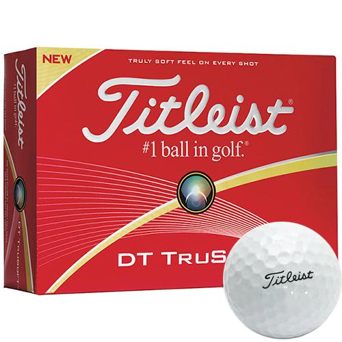 Titleist® DT TruSoft White Std Serv