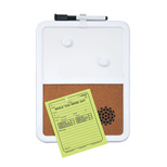 17846 - Magnetic Whiteboard/Corkboard