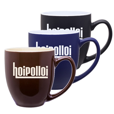 15 oz bistro mug - 2 tone