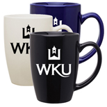 Ceramic Coffee Mugs, 14 oz Contour Mug