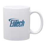 17905 - 11 oz C-Handle Mug - Glossy White